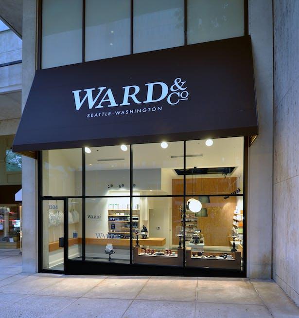 Ward&Co. Men's Grooming, Seattle Washington