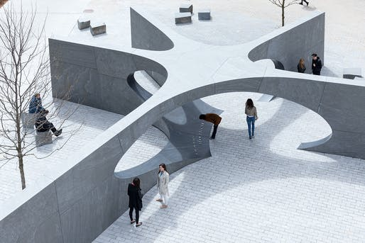 Collier Memorial by Höweler and Yoon Architecture. Photo by Iwan Baan.