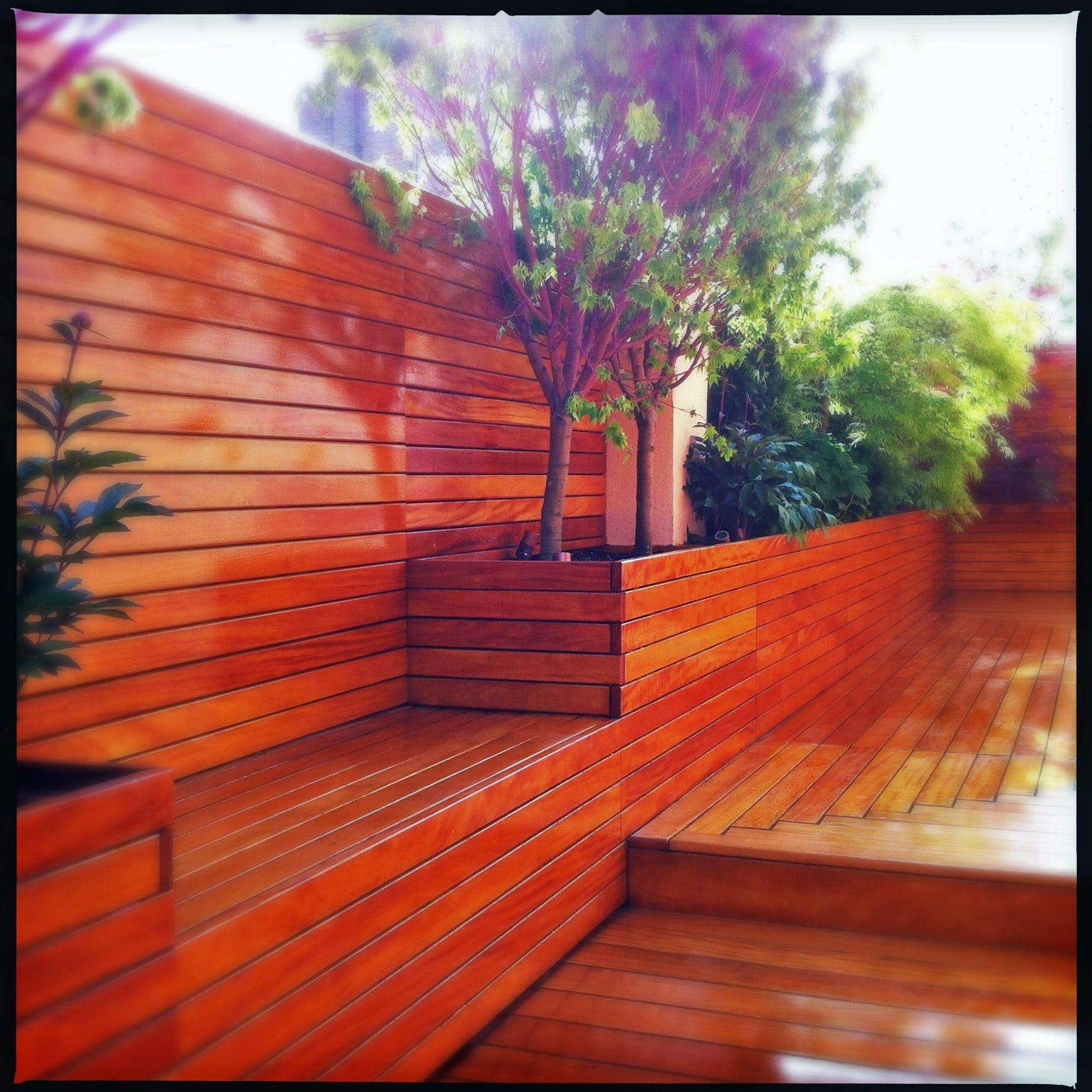 Rooftop Zen Garden For Yoga Studio