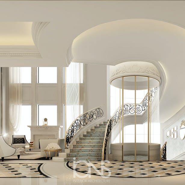 51 Stunning Staircase Design Ideas: Stunning Staircase And Elevator Design Ideas