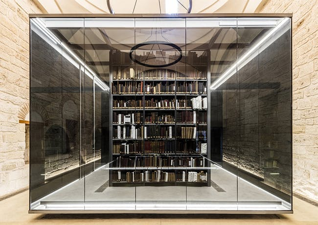 Beyazit State Library Renovation, Istanbul, TR. Image credit: Emre Dörter