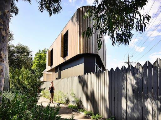 'Residential Design': Triangle House by Molecule Studio. Photo Credit: Derek Swalwell.