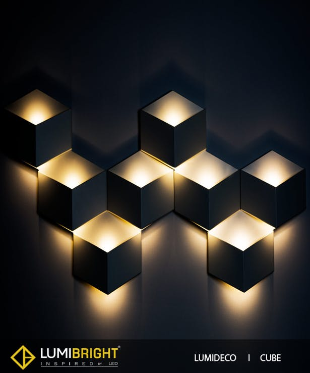 Lumideco range of creative wall lights for adding decor to walls lumideco range of creative wall lights for adding decor to walls lumibright ltd archinect aloadofball Image collections