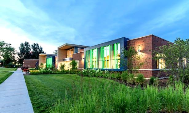 Aurora University's John C. Dunham STEM Partnership School Awarded LEED Platinum