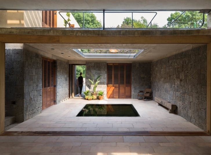 Albina Ortega House by Rozana Montiel Estudio De Arquitectura, located in Tepoztlán, Mexico. Photo by Sandra Pereznieto.