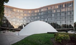 New photos of Oscar Niemeyer's Communist party headquarters in Paris