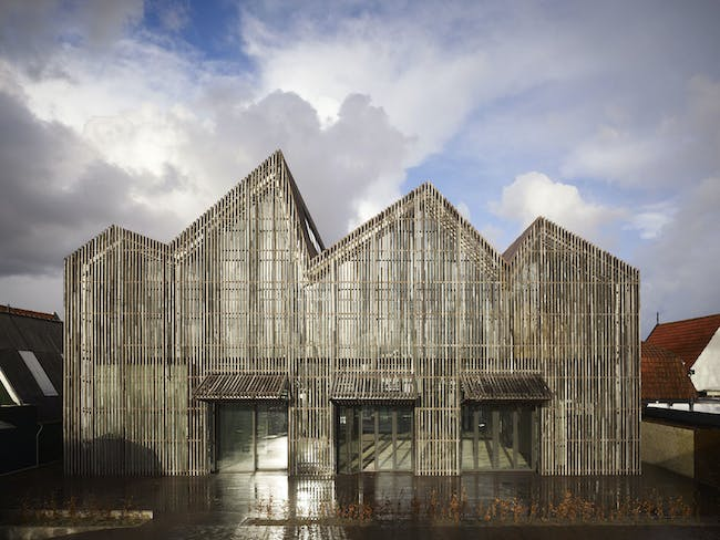 Shortlisted in the Culture Category: Kaap Skil, Maritime & Beachcombers Museum in the Netherlands by Mecanoo (Photo courtesy of World Architecture Festival)