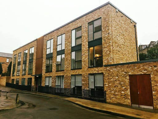 One of Pocket's developments completed in 2016. It is located in the London borough of Camden and provides 18 affordable one-bedroom Pocket homes. Courtesy of Pocket's Facebook page.