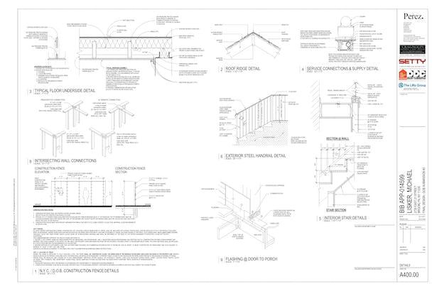 Selected Construction Document sheets (Revit)   Daniel Horn   Archinect