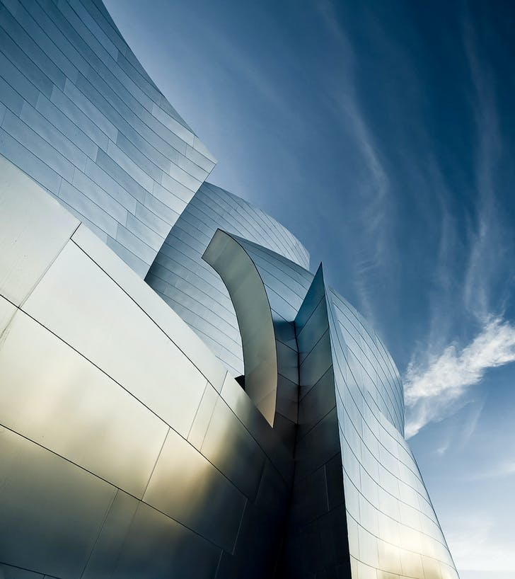 Disney Concert Hall by Gehry Partners, Los Angeles, CA © Sam Javanrouh