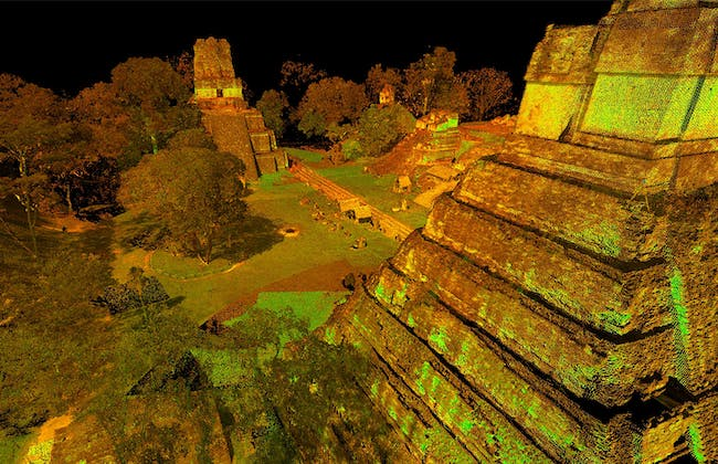 Tikal: one of the 500 digitally preserved cultural sites. Image courtesy of CyArk.