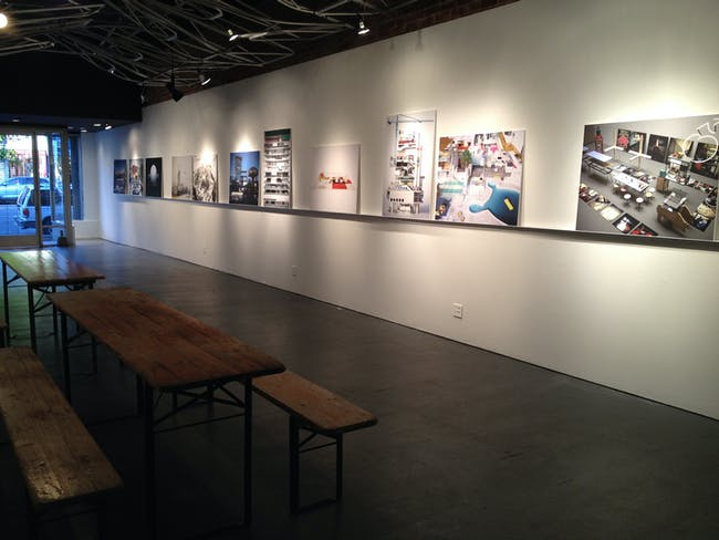Joakim Dahlqvist's 'Piminski' exhibition at the WUHO Gallery in L.A. Image courtesy of WUHO Gallery