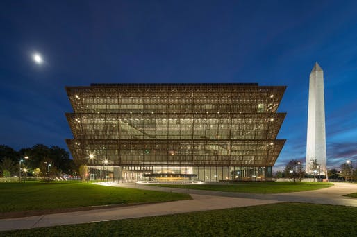 Smithsonian National Museum of African American History and Culture. Photo credit: Brad Feinknopf.