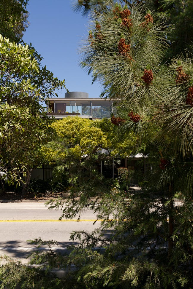 The Neutra VDL Research House. Photo by: David Hartwell