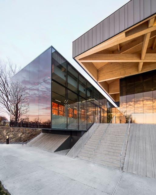 Stade de Soccer de Montréal by Saucier+Perrotte Architectes and HCMA. Image: Olivier Blouin.