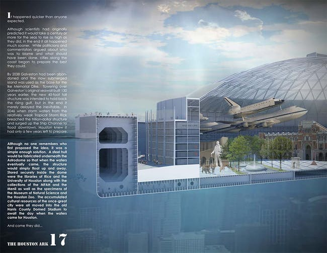 2nd place - The Houston Ark by HiWorks with Erica Goranson