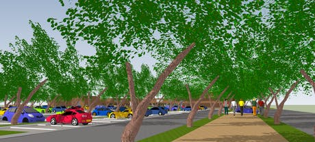 Art & Design campus on Barki road Lahore (parking lot)