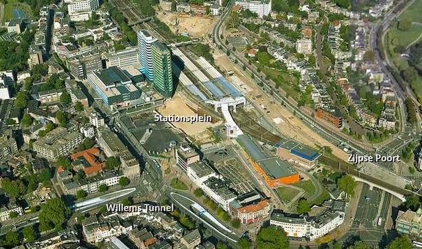 Aerial View of the Masterplan Site