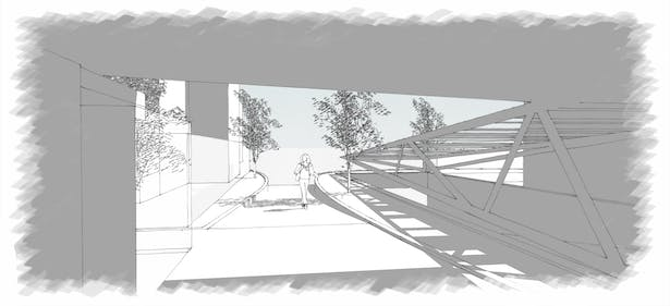 design of the main entrance