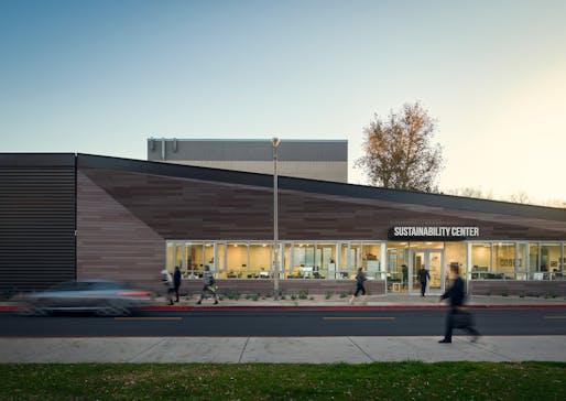 COTE LA AWARD - HONOR: Gensler, CSUN Sustainability Center, Northridge, CA. Photo: Ryan Gobuty.