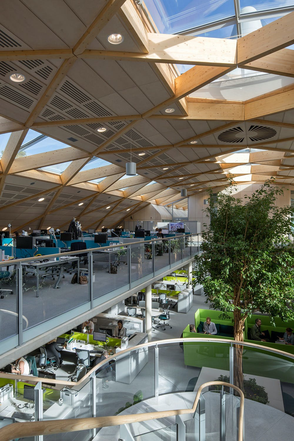 Shortlisted For Commercial Building Of The Year Hopkins Architects Partnership LLP Living Planet Centre
