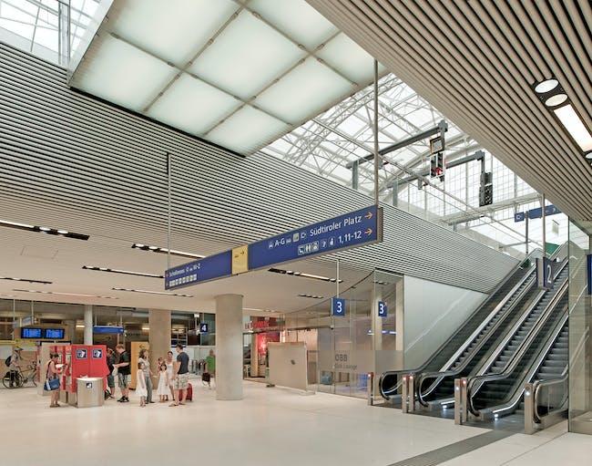Salzburg Central Station by kadawittfeldarchitektur. Photo: Angelo Kaunat.