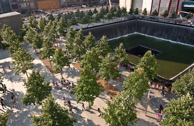 The WTC memorial site. Credit: Joe Woolhead via Studio Libeskind
