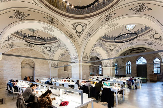 Completed Buildings - NEW AND OLD: Beyazit State Library by Tabanlioglu Architects
