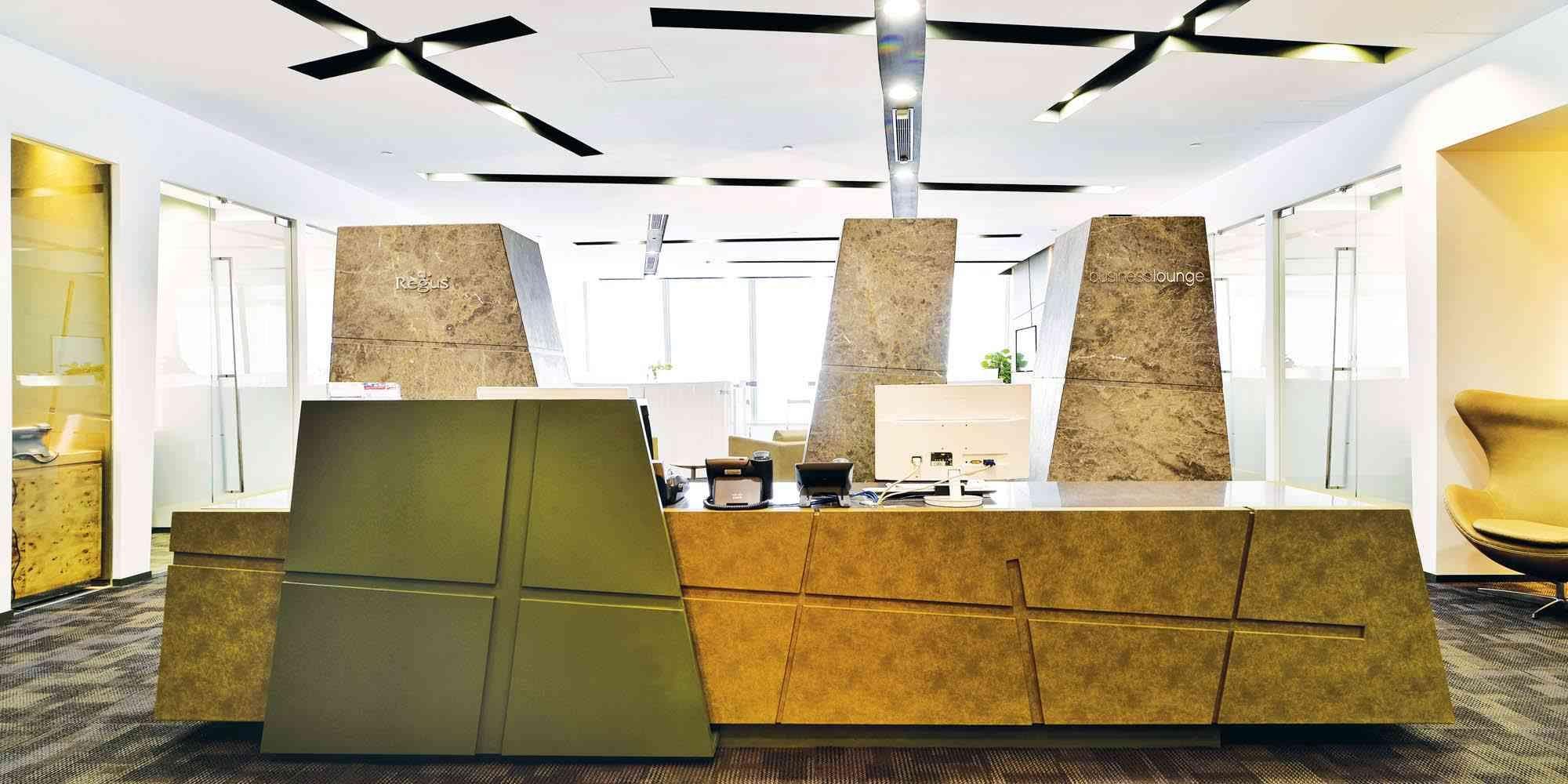 Design Interior Regus Icc Hong Kong I Fva Archinect