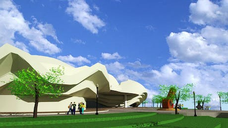 Redesigning of Alhambra Art Complex, Done !!!