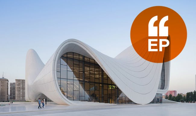 Heydar Aliyev Center - photo by Iwan Baan