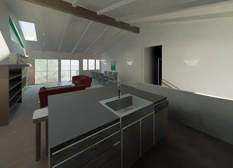 Neuf Residence, Interior Remodel