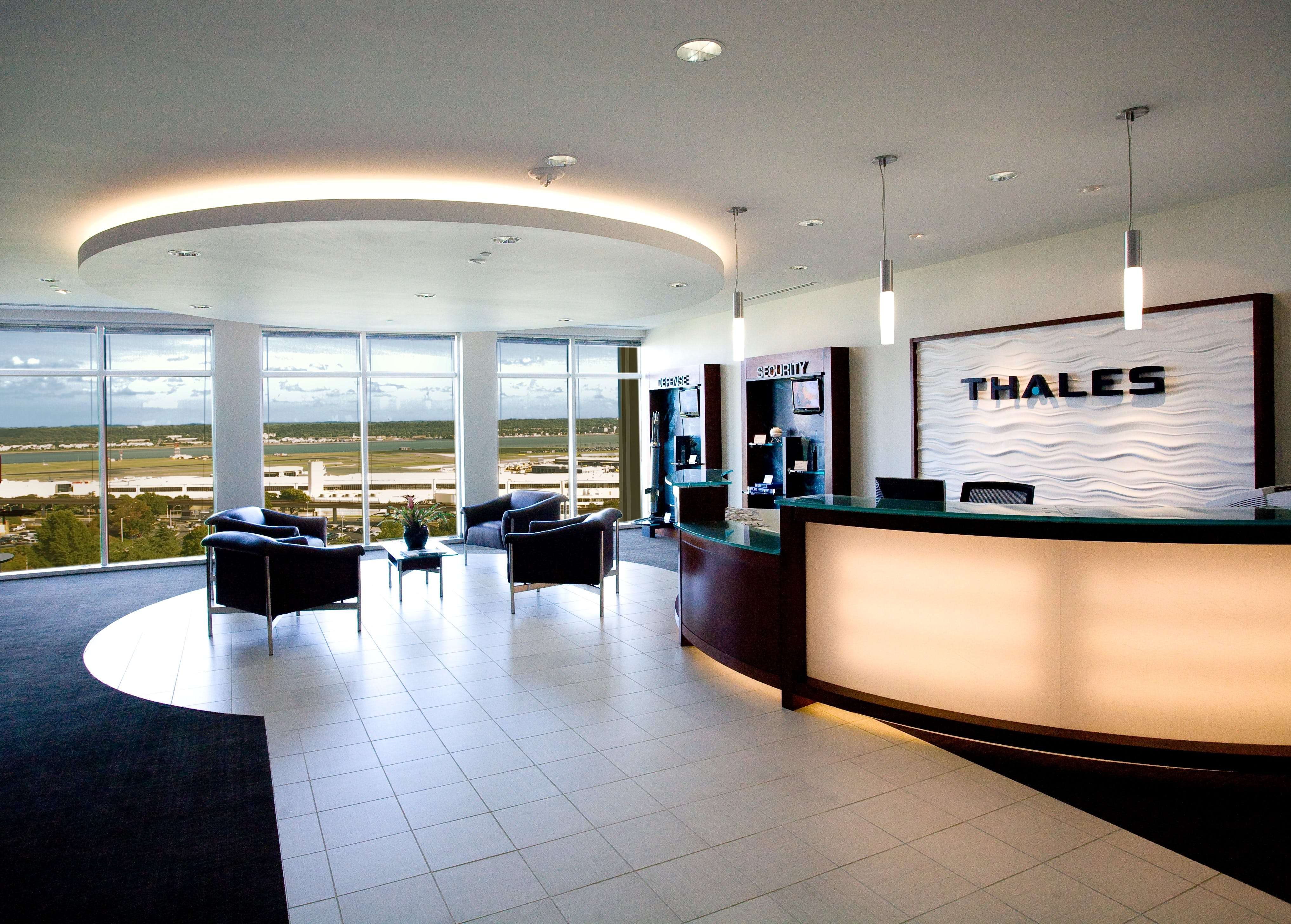 Thales Lobby Experience Ralph Tullie Archinect