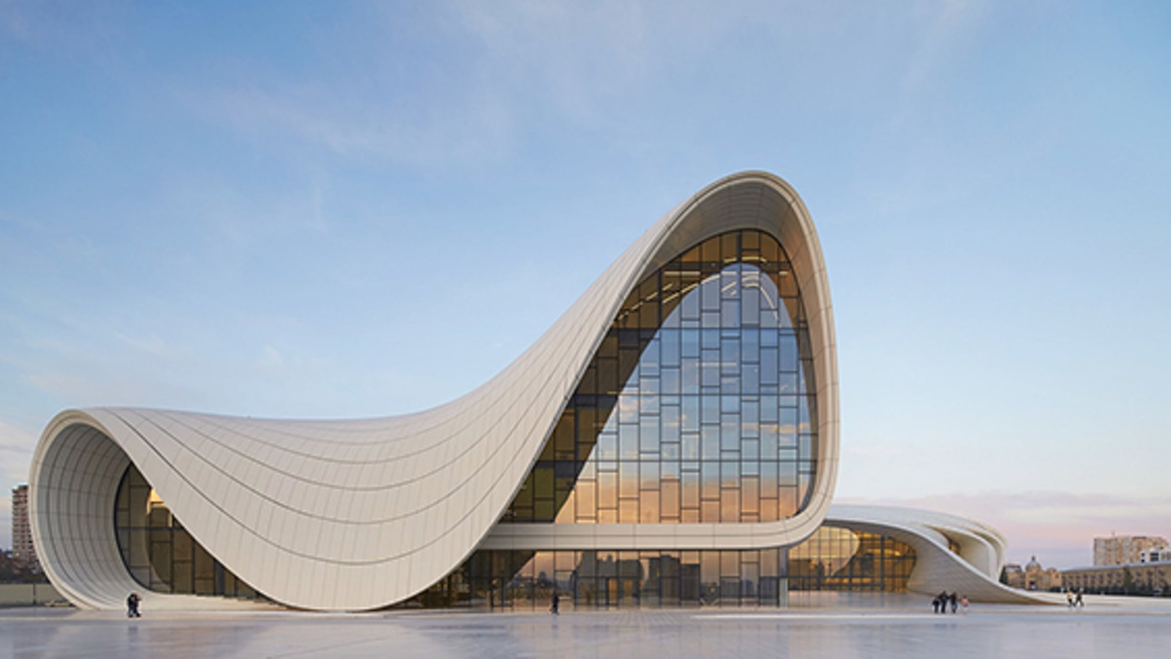 an architectural comparison of the heydar aliyev center and the guggenheim museum Heydar aliyev centre zaha hadid architects was appointed as design architects of the heydar aliyev center following a competition in in this architectural.