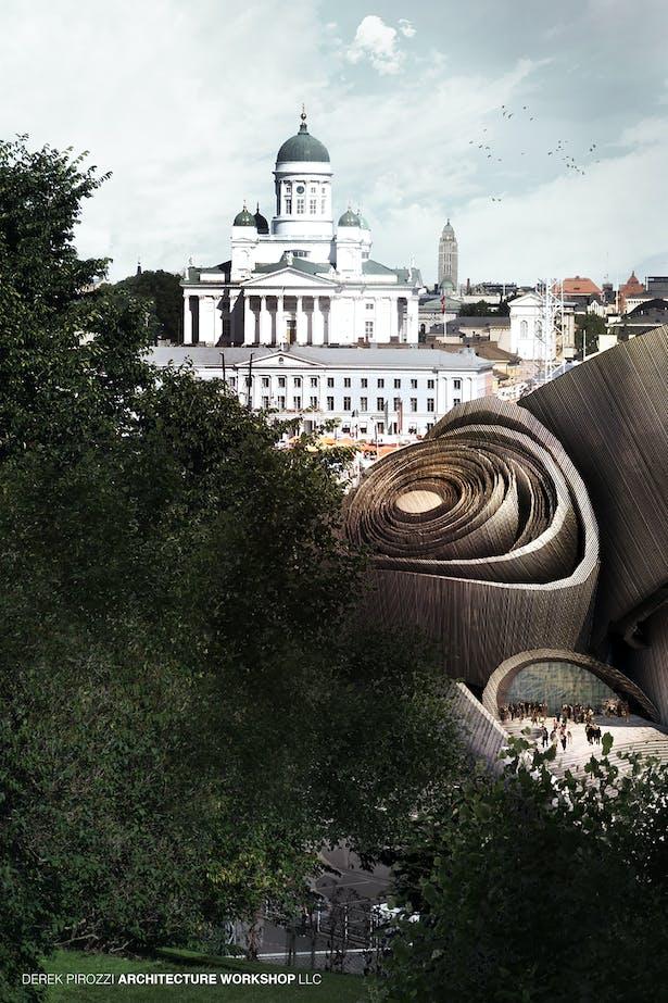 DPAW Guggenheim Helsinki - Context View