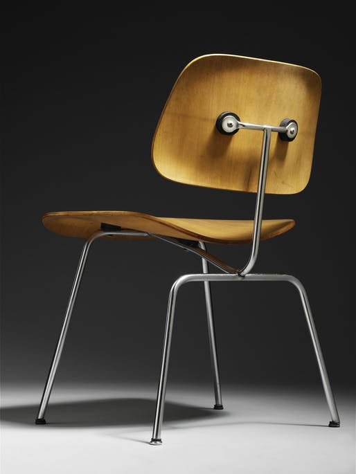 DCM chair, designed by Charles and Ray Eames, 1947. Photo © Eames Office, LLC
