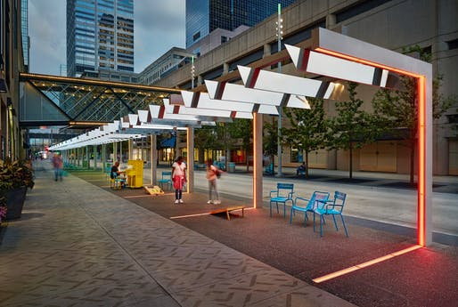 Award of Merit: Nicollet Mall | Minneapolis, MN. Photo: John Muggenborg