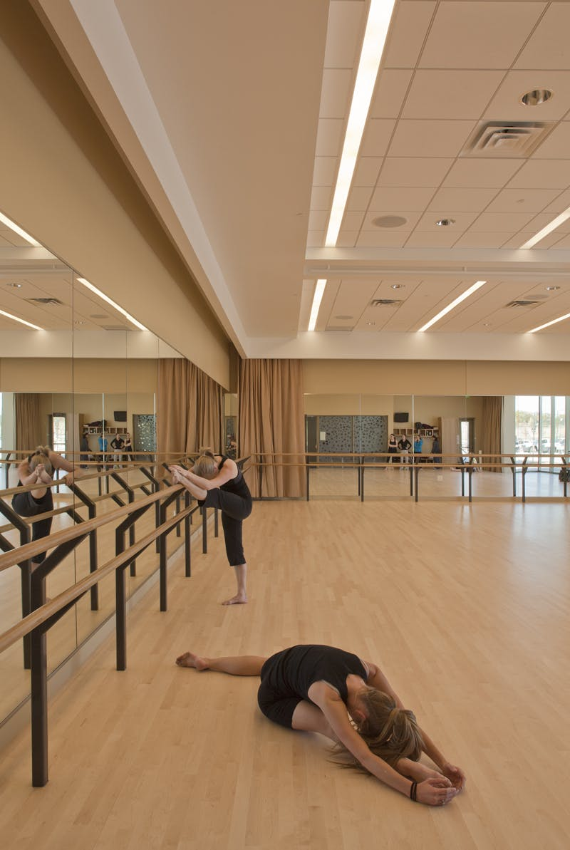 Parker arts culture events center pace semple brown for Porte arts and dance studio
