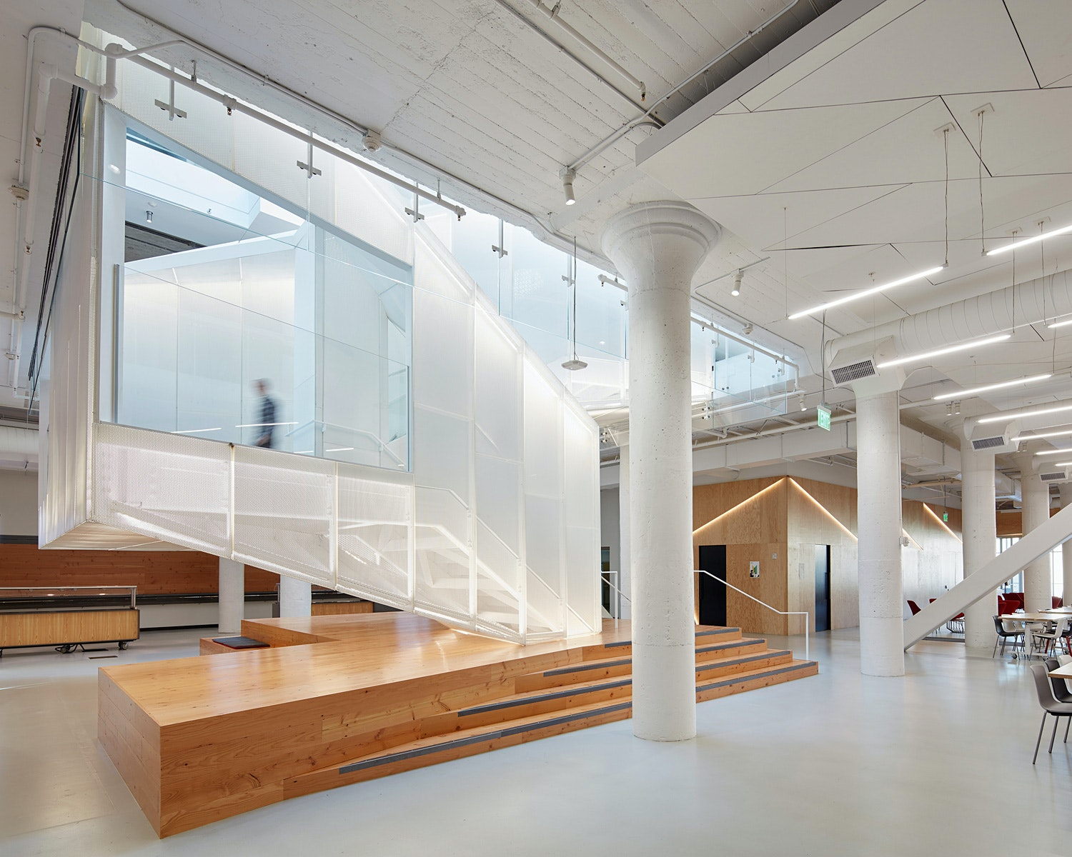 Pinterest HQ; San Francisco, CA By IwamotoScott Architecture With Brereton  Architects. Photo: Bruce Damonte.