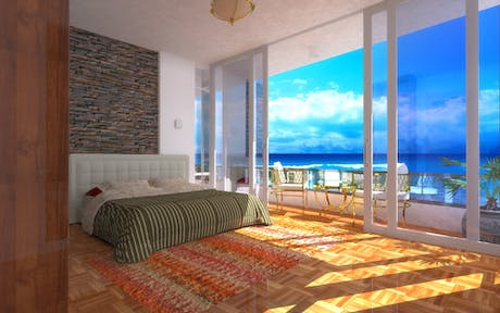 Interior design of proposed apartments
