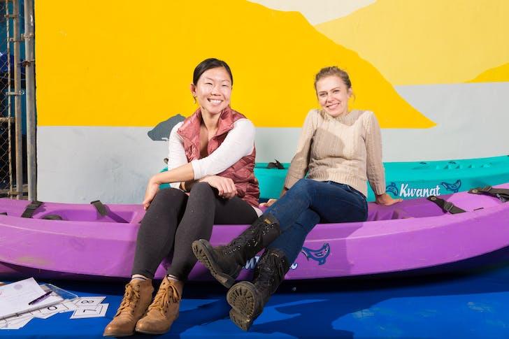 Elizabeth Timme & Helen Leung, Co Executive Directors. Courtesy LA Más