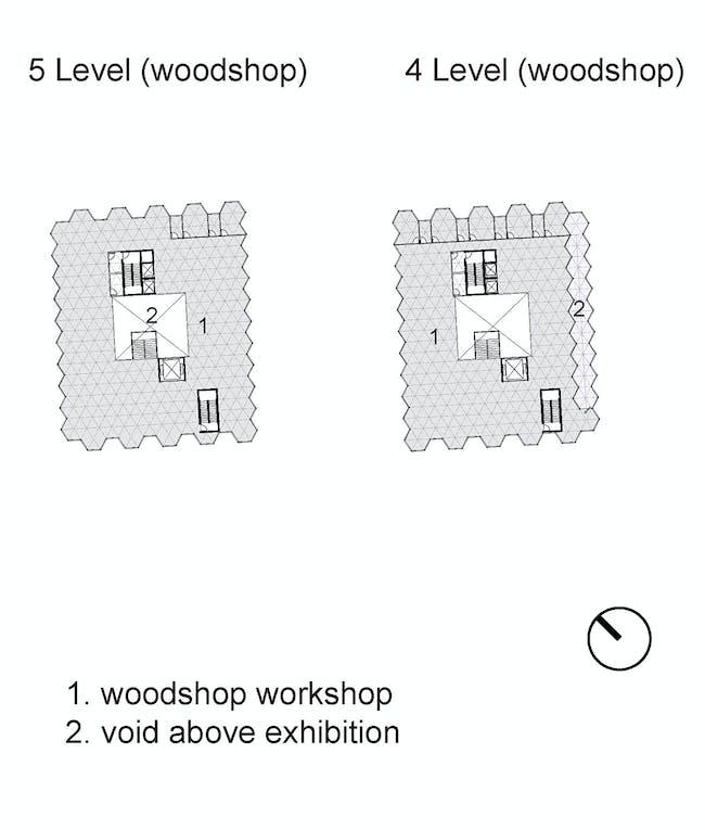 Level 4 plan. Image courtesy of Workshop XZ.