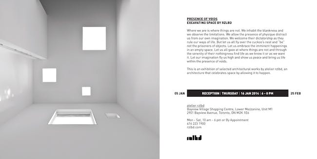 Presence of Voids at atelier rzlbd 05