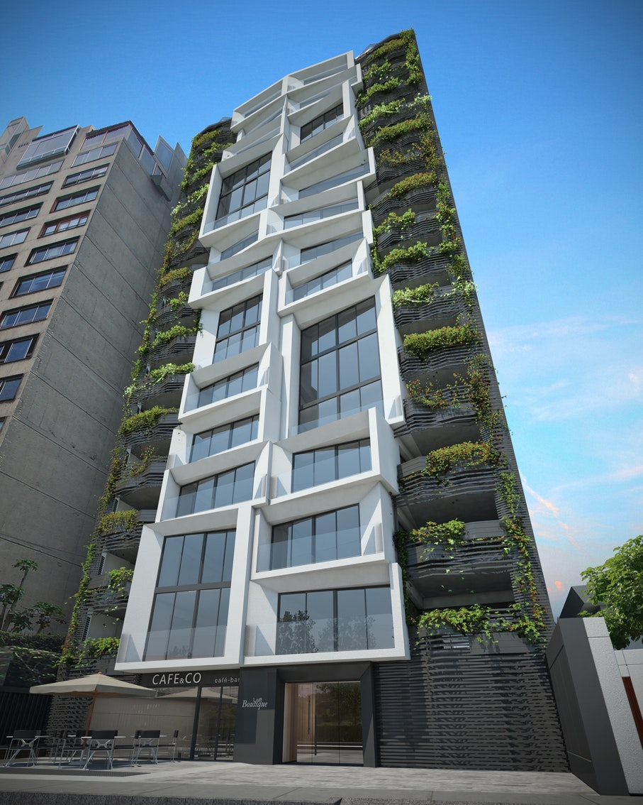 Loft Tower in Lima XT ea d Archinect