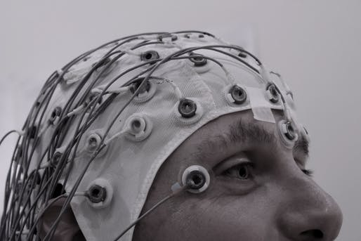EEG Recording Cap Via Wikimedia Commons
