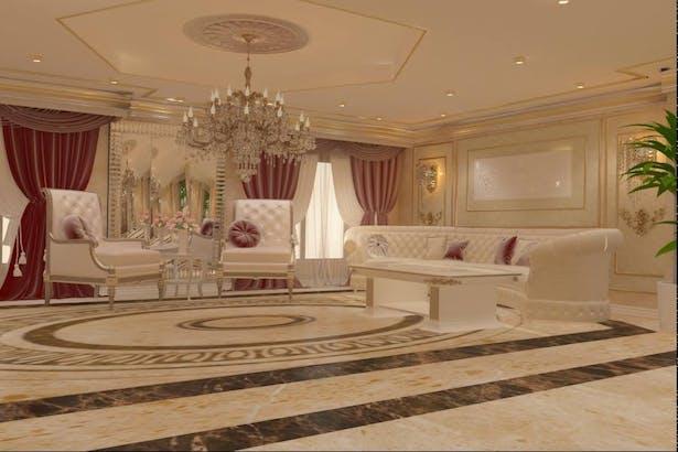 Interior design living classic