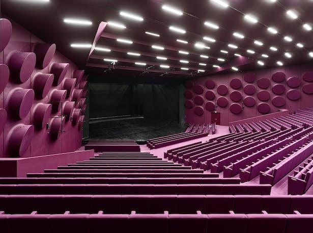Palais de la Musique et des Congrès (PMC) Strasbourg – Auditorium Schweitzer (expanded from 900 to 1.200 seats)