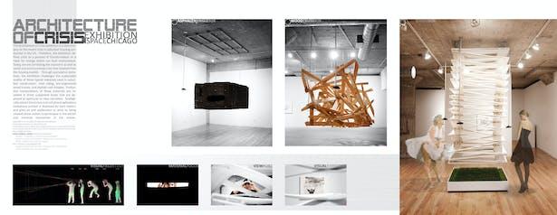 Architecture of Crisis Exhibit