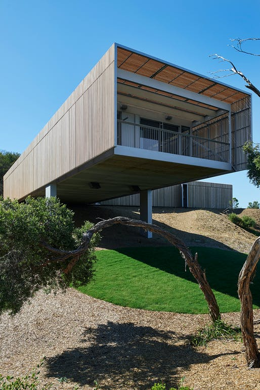 House on the Coast by Sean Godsell Architects (VIC). Photo: Earl Carter.