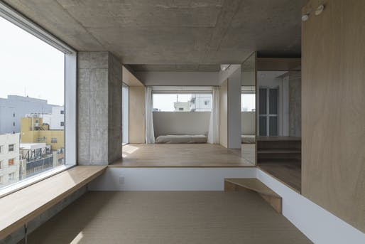 Best Residential Architecture, Multi-Unit - Hiroyuki Ito Architects: Tatsumi Apartment House, Tokyo, Japan. Photo credit: Azure